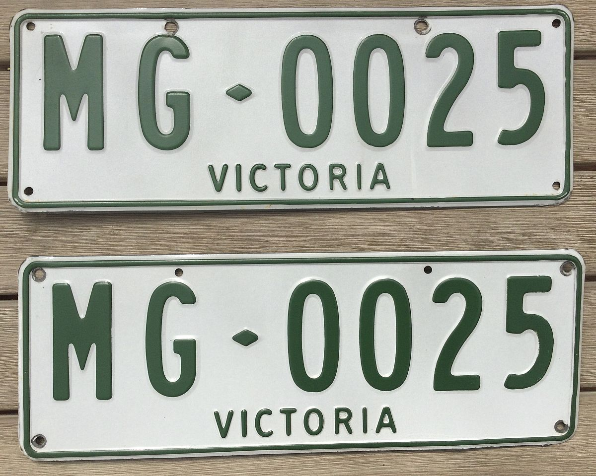 For Sale: Number plates